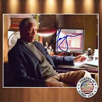 Morgan Freeman Autographed Signed 8x10 Photo (Se7en) REPRINT