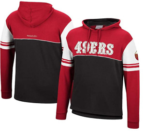 San Francisco 49ers Men's Pullover Hoodie by Mitchell & Ness