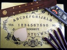 SÉANCE & SPIRIT COMMUNICATION KIT ouija board wicca pagan contact dead halloween