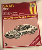 Haynes SAAB 900 1979 thru 1988 All models 2.0 liter Automotive Repair Manual 980