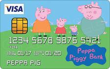 PEPPA PIG Novità in plastica, carta di credito