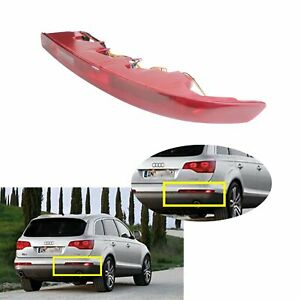 Pour Droite Audi Q7 4L 2006+ Reflecteur arrière feu stop feux de brouillard 12V