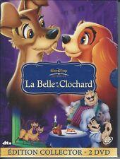 Dvd LA BELLE ET LE CLOCHARD (Neuf sous blister - digipack)