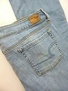 American Eagle Women's Jeans Favorite Boyfriend Stretch Size 16 measures 36x30
