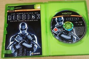 Xbox The Chronicle of Riddick Escape from Butcher Bay