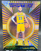 2018-19 LEBRON JAMES PANINI REVOLUTION VORTEX INSERT LOS ANGELES LAKERS