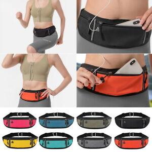 Waist Belt Bag Purse Running Jogging Pouch Pocket Light Weight Outdoor Sports✅`