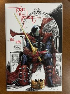 King Spawn #1 - 1:250 - Todd McFarlane Signed 856 of 1697 - 2021 - Image Comics