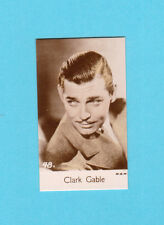 Clark Gable Vintage 1935 Bridgewater Film Star Cigarette Card