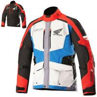 Alpinestars Andes Honda V2 Drystar Mens Street Riding Motorcycle Jacket