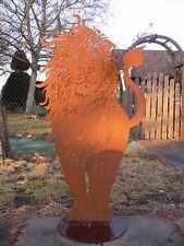 Edelrost tiere gartenfiguren skulpturen ebay for Rostfiguren tiere