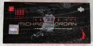 Michael Jordan 1999 Upper Deck Career Set Box Set Complete KCCA005