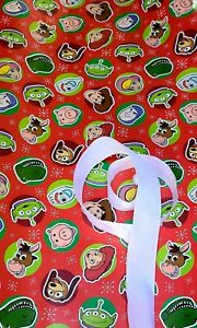 Toy Story red Gift Wrap Set, Paper And Ribbon, see description
