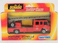 Solido Toner Gam 352 Berliet Camiva Paris Voiture Echelle Ladder Tender, xlnt