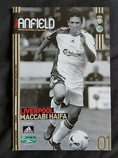 LIVERPOOL V MACCABI HAIFA UEFA CHAMPIONS LEAGUE QUALIFIER 2006 - 07