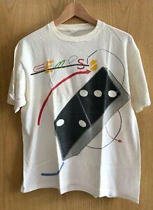 "*MEGA RARE* GENESIS - Tour T-Shirt ""Invisible Touch"" 1987 - Phil Collins"