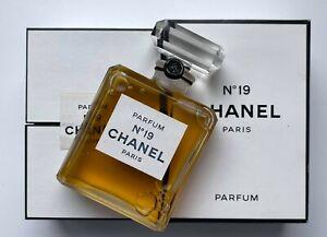 Chanel NO 19 PARFUM 28 ml 0.9 fl oz VINTAGE SEALED BOTTLE