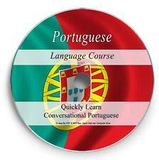 Learn to speak PORTUGUESE - Language Course on DVD Audio MP3 + PDF Textbook 167