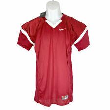 New listing Nike Football Jersey Boys XL Burgundy Mesh White Trim NEW $55