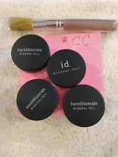 Bare Minerals a lot of four different mineral veil with brush .02oz.57g
