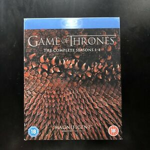 Game of Thrones Blu Ray Season 1-4 Box Set