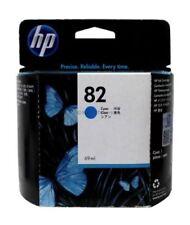 HP 82 Cyan Ink Cartridge C4911A Genuine New Exp jun 2018