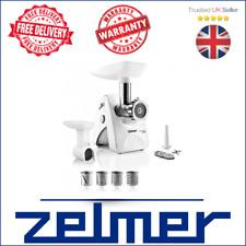 New top MEAT MINCER electric kitchen ZELMER ZMM4248W shredder grinder must have