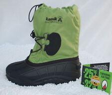KAMIK Gr.2 / 34 Southfrost Kinder Winterstiefel Boots -32°C waterproof grün