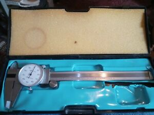 MICROMETER DIAL 6 INCH/.001 STAINLESS in CASE