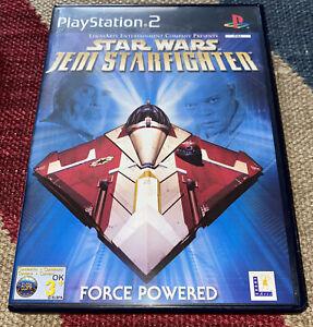 Star Wars Jedi Starfighter (Sony PlayStation 2, 2002) PAL Complete