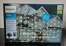 Philips Falling Snow Effect Indoor/Outdoor Motion Projector  New