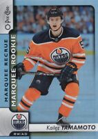 KAILER YAMAMOTO NO:611 MARQUEE ROOKIE in O PEE CHEE PLATINUM 2017-18     a