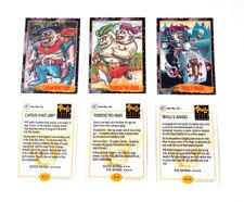 1992 Star Pics Troll Force Promo Card Set (3) Nm/Mt