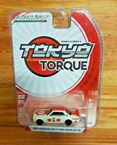 GREENLIGHT 1:64 ~ TOKYO TORQUE SERIES 6 ~ 1971 Nissan Skyline 2000 GT-R #6