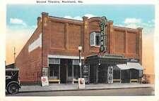 Rockland Maine Strand Theatre Street View Antique Postcard K55385