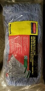 Brand New Rubbermaid Commercial D213-71 Large Blend Mop Heads Work Smarter