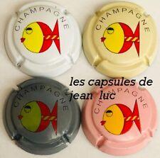 Série de 4 capsules  Générique n°C10 à C10c Réf au Lambert  générique  page 121
