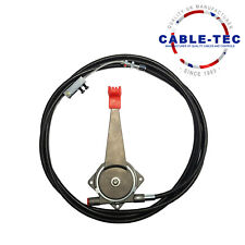 """8ft 6"""" universal hand throttle cable assy  