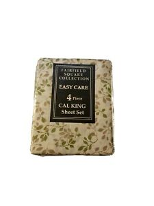 Fairfield Square Collection Cal King 4 Pcs MSRP $60
