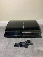 Sony PlayStation PS3 Fat 465GB Backwards PS2 Compatible CECHA01 Console Tested