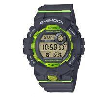 CASIO G-SHOCK GBD-800-8ER IN GRIGIO CON BLUETOOTH E STEP TRACKER, CONTAPASSI