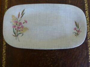 Vintage Sandwich Plate Harvest Fern by J&G Meakin SOL 391413 c 1950's