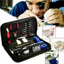 19pcs Watch Band Case Remover Opener Holder Wrench Screwdriver Repair Tools Kit