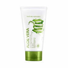 Nature Republic / Soothing & Moisture Aloe Vera Foam Cleanser 150ml / Free Gift