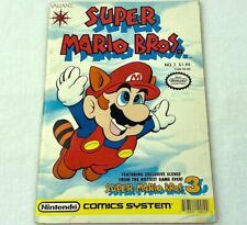 SUPER MARIO BROTHERS ISSUE #1 Nintendo Video Game Valiant Comics 1990
