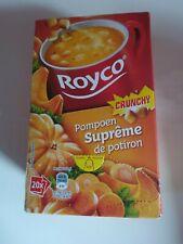 °°° ROYCO Suprême de potiron Crunchy boîte de 20 soupes °°°