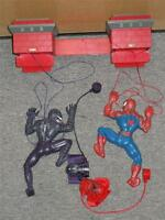 Marvel Spiderman Vs. Venom Laser Strings Race Game Laser Door Hanging Kids 2006