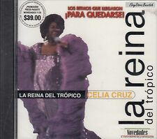 CELIA CRUZ LA REINA DEL TROPICO LOS RITMOS QUE LLEGARON PARA QUEDARSE CD Sealed