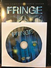 Fringe - Season 4, Disc 3 REPLACEMENT DISC (not full season)