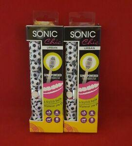 2 Sonic Chic - Urban Sonic Powered Toothbrush - BRAND NEW